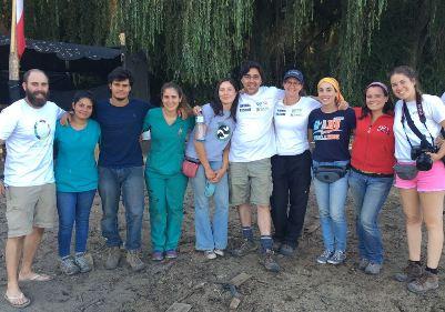 Voluntarios de GAAP llegan hasta Refugio de animales damnificados REAMA