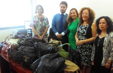 Tribunales de Rancagua y San Fernando culminan campaña en beneficio de mujeres afectadas por incendios forestales