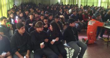 400 Jóvenes de Doñihue disfrutarondel #CineitInerante de INJUV O'Higgins