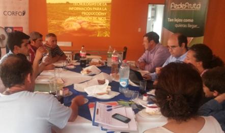 Productores participan en taller de Uso de Tecnologías para la Producción y  Exportación de Ajos