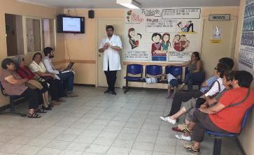 Hospital de Pichidegua  realiza  talleres educativos de salud cardiovascular
