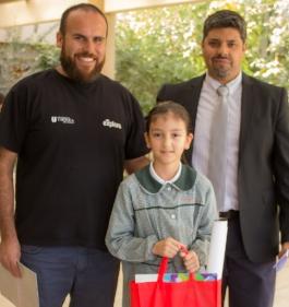 """Premian a estudiantes que participaron en desafío: """"Encuentra agua en el universo"""""""