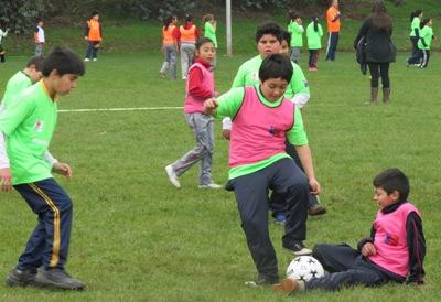 Pequeñitos de Placilla participarán en gran encuentro deportivo del MINDEP