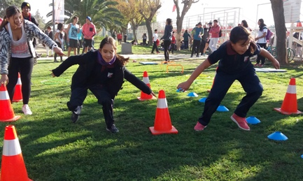 Con masiva participación arrancó el Mes de la Actividad Física en Rancagua