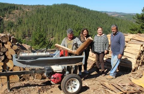 Avanzan proyectos del fondo Más Leña Seca en la Región de O´Higgins