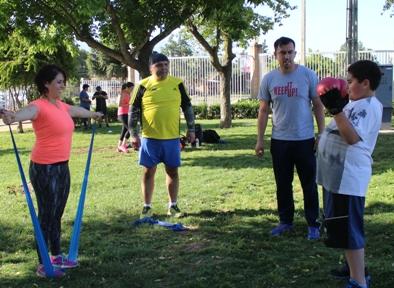 Municipio de Rancagua realiza actividad física gratuita para la comunidad
