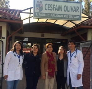 Alcaldesa les da la bienvenida a médicos en Etapa  de Destinación y Formación que cumplirán funciones en la comuna