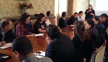 Comité Operativo PDA de Servicios Públicos y Municipios se reunieron en Rancagua