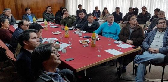 Consejo Comunal de Seguridad Pública conoce proyectos que buscan revitalizar el centro de Rancagua
