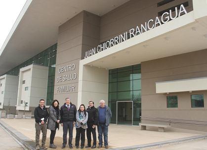 Modernas instalaciones albergarán al nuevo Cesfam N° 5 de Rancagua