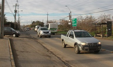 Rancagua: Aprueban la semaforización del cruce de la Ruta H-210 con avenida La Foresta