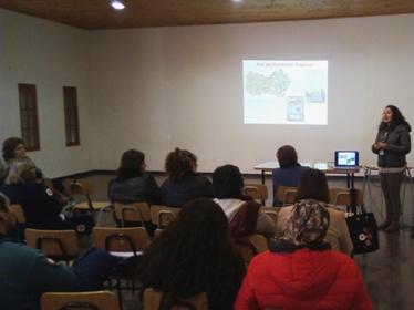 Vecinos de  Peumo se capacitaron  en Contaminación Atmosférica y enfermedades respiratorias