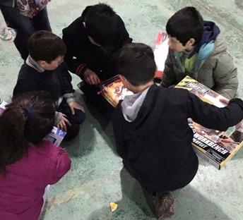 Niños de protección celebran su día con regalos y chocolates preparados por jóvenes de justicia juvenil de Graneros