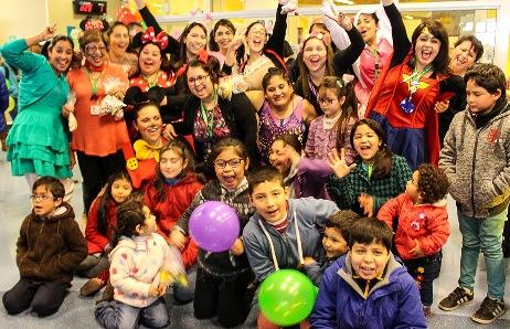 """Funcionarios del Consultorio Infantil del Hospital de Rancagua celebraron """"Día del Niño"""""""