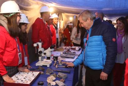 André Sougarret destacó importancia de la minería en la región