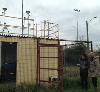 SEREMI del Medio Ambiente realiza nueva inspección a Estaciones de Monitoreo de Calidad del Aire