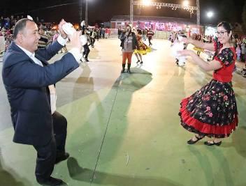"""Multitudinaria inauguración  de la nueva """"Plaza Ciudadana"""" en Graneros"""