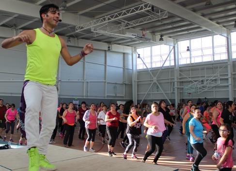 Polideportivo de Rancagua invita a celebrar su primer aniversario