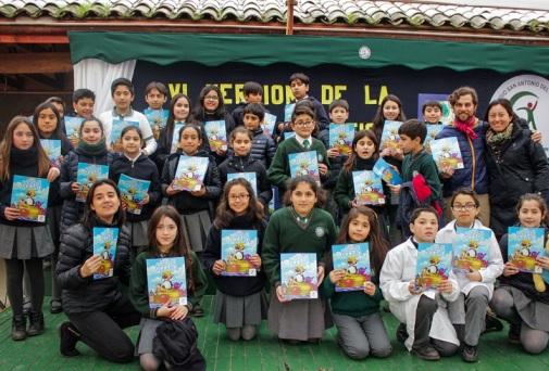 Álbum de Los Océanos llega a más de 8 mil estudiantes de la región