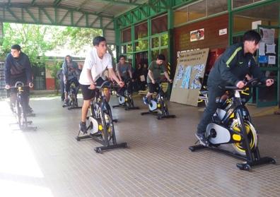 Liceo Jorge Alessandri participó en Feria de Actividad Física