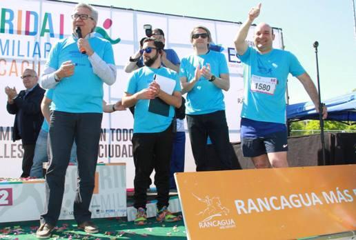 Más de 9 mil personas participaron en la 5ª Corrida Familiar Rancagua
