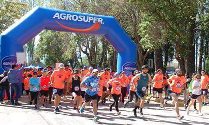 Cientos de deportistas corrieron en Graneros con Agrosuper
