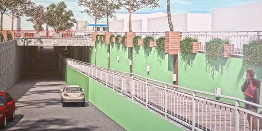 Viernes 13 comienzan las obras para construir paso desnivelado en Av. La Compañía
