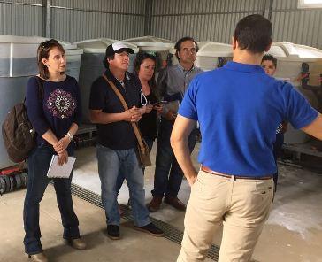 Agricultores hortícolas de la región de O'Higgins visitan Almería – España en Gira Tecnológica