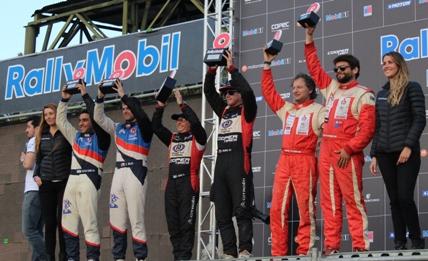 """RallyMobil coronó a los campeones del """"Gran Premio de Rancagua"""""""