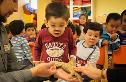 Niños del Jardín Infantil de Hospital Regional disfrutaron de nuestra educativa de Parque Zafari
