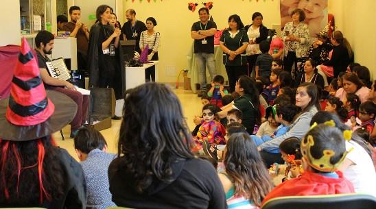 Pacientes y funcionarios de la Unidad de Medicina Física y Rehabilitación del HRLBO celebraron Halloween