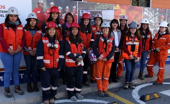 Mineras del futuro iniciaron su formación en El Teniente y Minera Valle Central