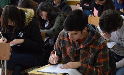 Jóvenes de la Región se pusieron a prueba en un nuevo Ensayo PSU Santo Tomás