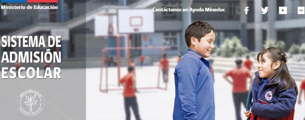 MINEDUC amplía plazo de postulación al Sistema de Admisión Escolar hasta el lunes 16 de octubre