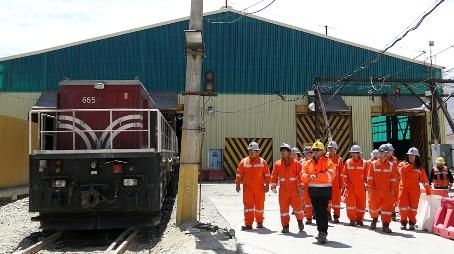 Estudiantes de Machalí realizaron visita técnica a El Teniente