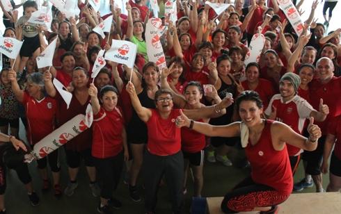 En el marco de la Teletón: Rancagua invita a participar en jornadas de actividad física