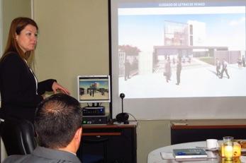 Corporación Administrativa presenta avances de proyecto de nuevo edificio del 1° Juzgado de Letras de Rengo