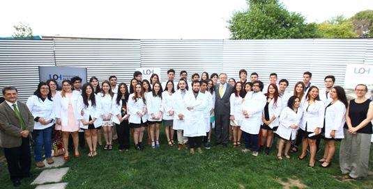 Estudiantes de Medicina UOH participan de  emotiva ceremonia de inicio de carrera