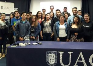 INJUV O'Higgins realizó charla de oferta programática  a jóvenes de la Universidad de Aconcagua