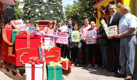 Alcalde anuncia la entrega de cerca de 39 mil juguetes a niños de Rancagua en esta Navidad