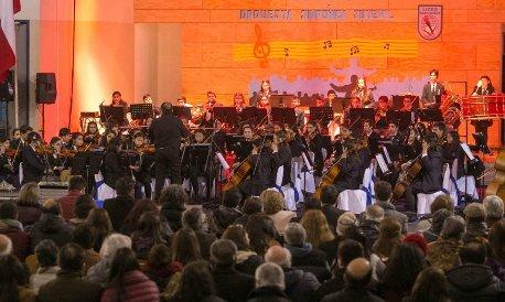 Sinfónica del Liceo Bicentenario Óscar Castro participará en importante festival internacional