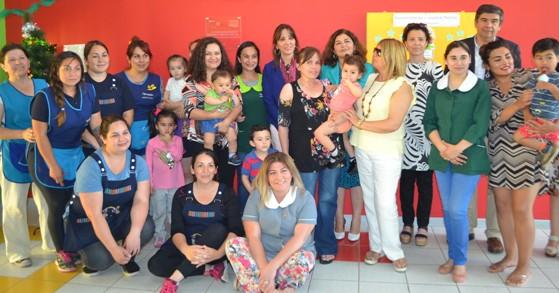 Subsecretaria Díaz recorre región de O'Higgins con buenas noticias para la Educación Parvularia