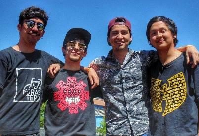 """Banda local """"Tierra Mojada"""" se presenta en el Festival de las Artes de Valparaíso"""