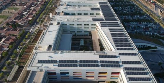 """Ministro de Energía inauguró Planta Fotovoltaica de Hospital Regional Libertador Bernardo O""""higgins"""