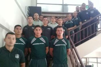 Director regional de Gendarmería  dio la bienvenida a 21 nuevos uniformados