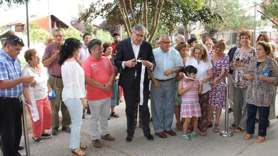 Municipio inauguró nueva área verde que beneficia a 3 villas de Rancagua