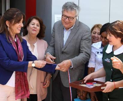 Alcalde y Subsecretaria de Educación Parvularia inauguran un nuevo jardín infantil en Rancagua