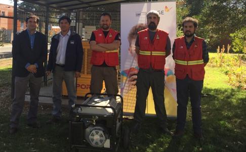 CGE entrega generadores a CONAF O'Higgins para apoyar gestión en emergencias