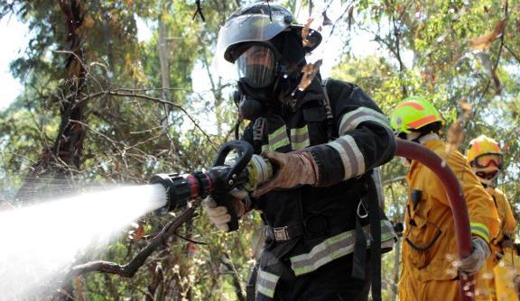 El Teniente y CONAF juntos contra los incendios forestales