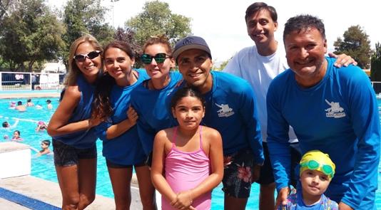 Rancagüinos despidieron la temporada de natación municipal
